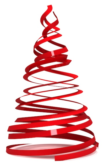 Christmas Tree Ribbon-1