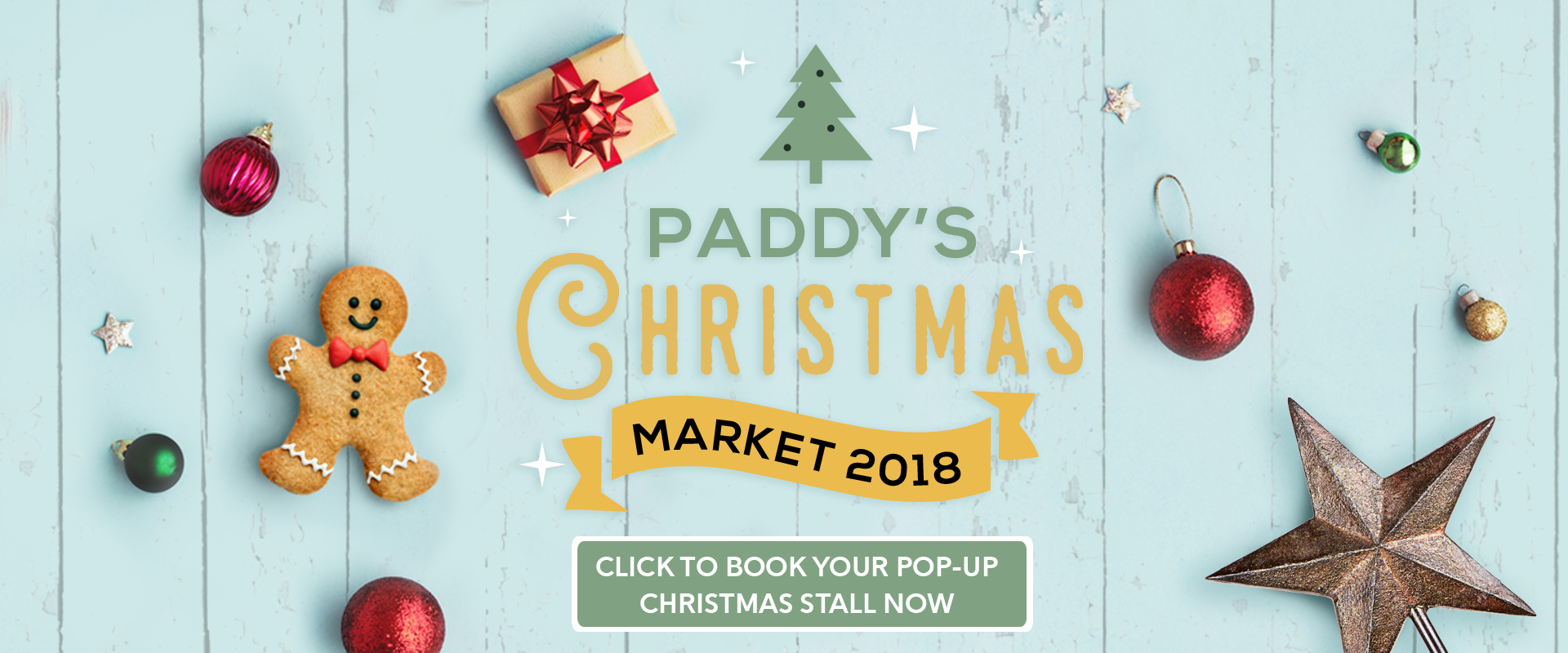 Paddy's Christmas Market 2018