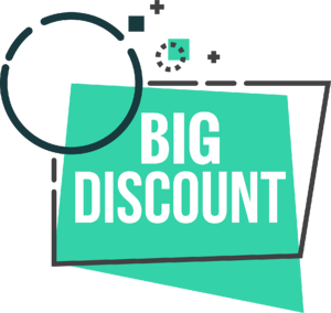 Promotional Vector - Big Discount