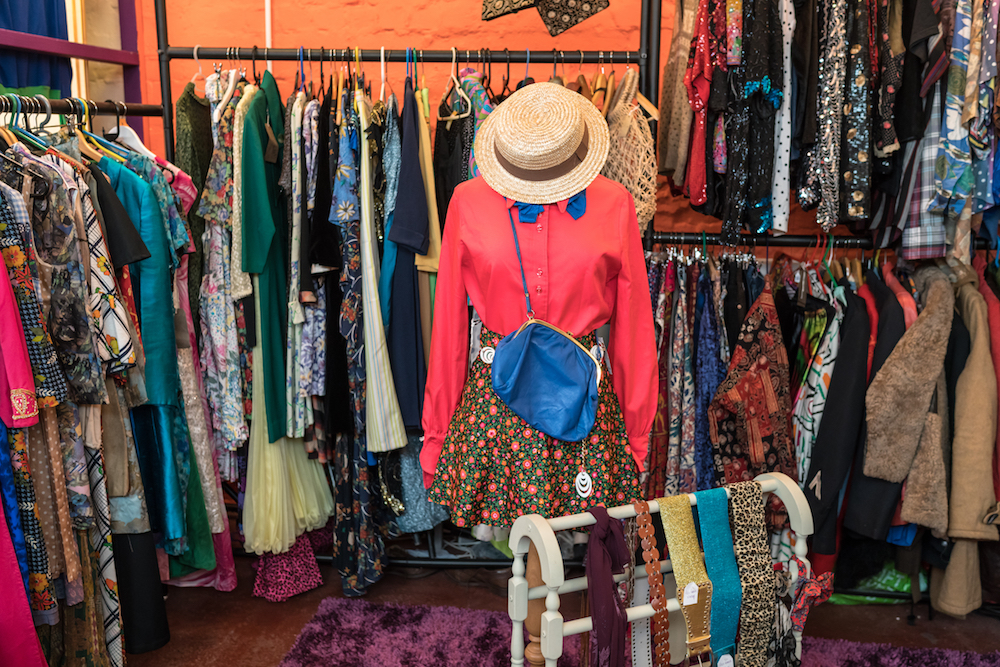 Sell vintage clothing at the new Paddy's Flash & Trash market